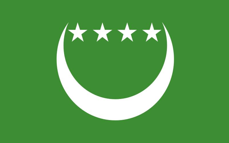 les Drapeaux Comores 1992-1996