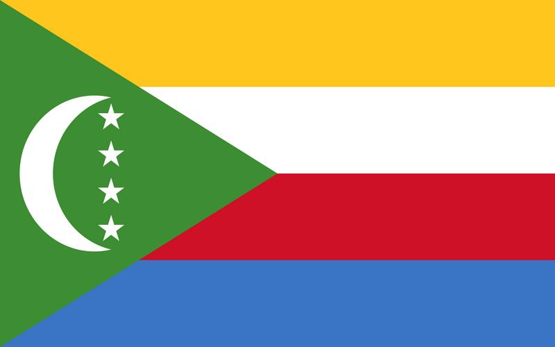 Les Drapeaux Comores depuis 2001