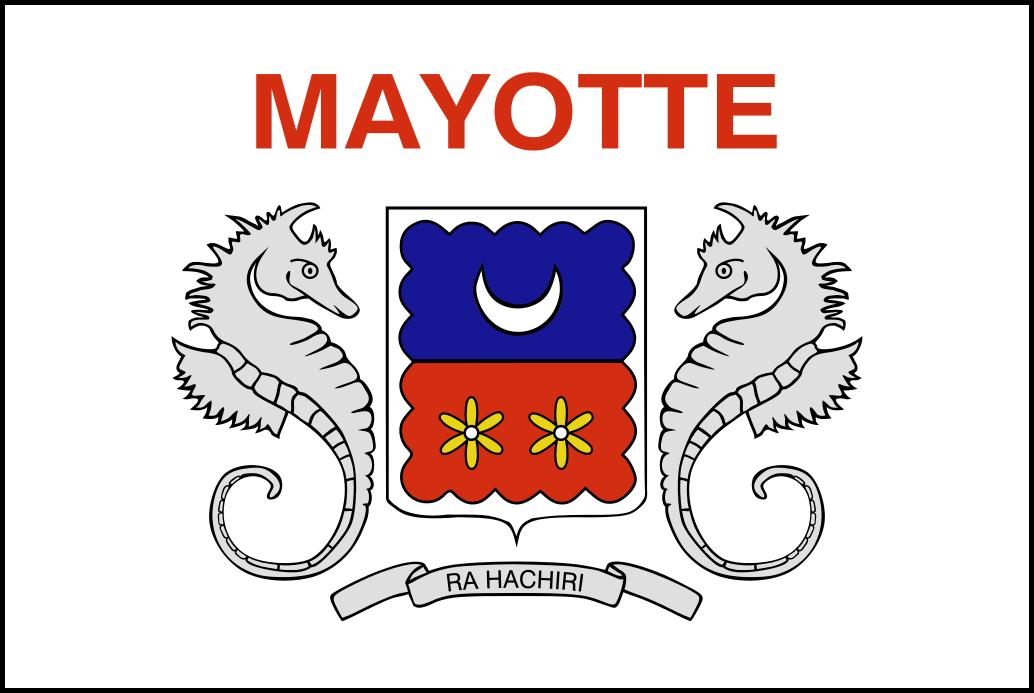 Les Drapeaux Mayotte