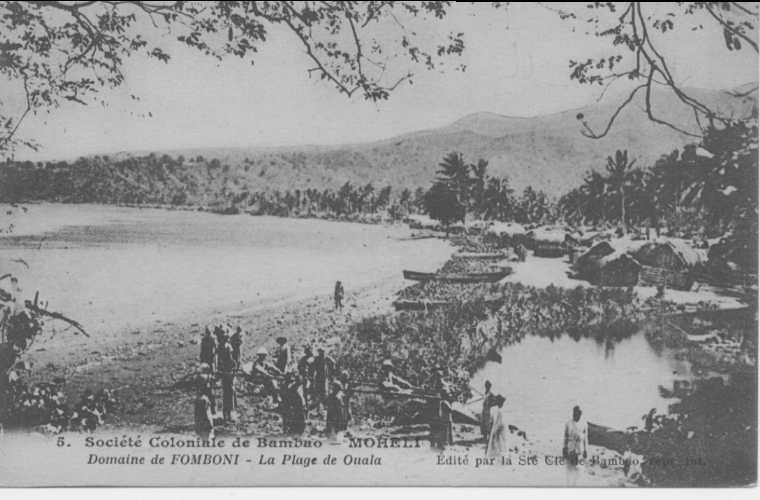 Société coloniale Bambao histoire des comores