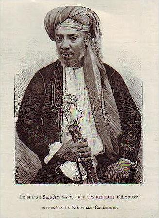 Sultan Anjouan histoire des comores