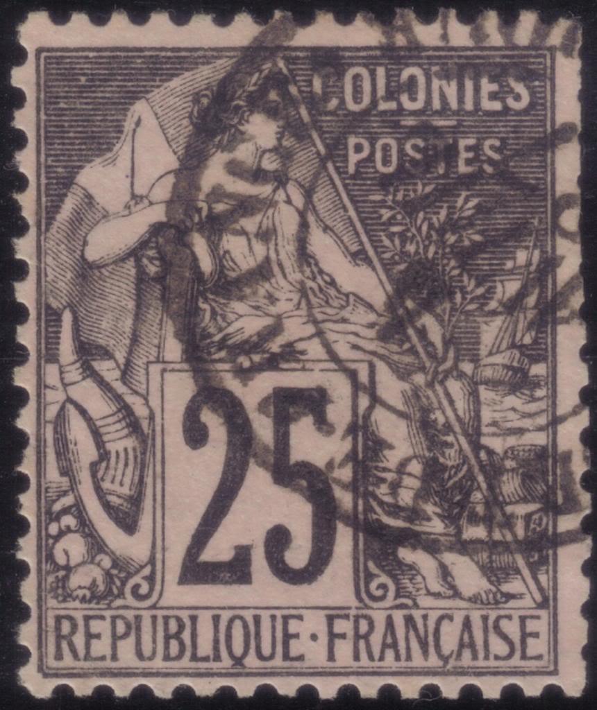 Timbre Comores 1875