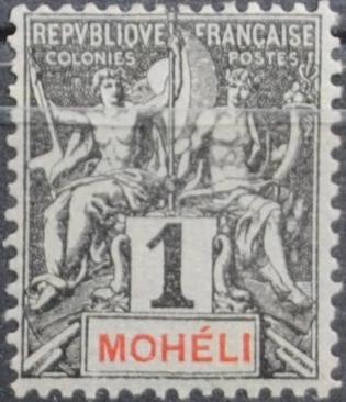 Timbre Comores 1911