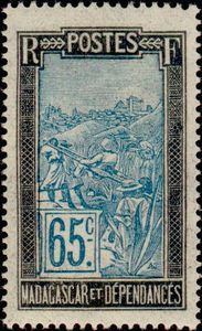 Timbre Comores 1925