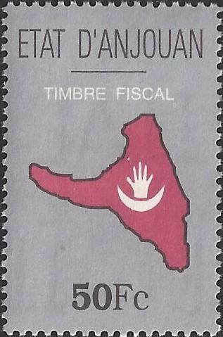 Timbre Comores 1997 Anjouan 1