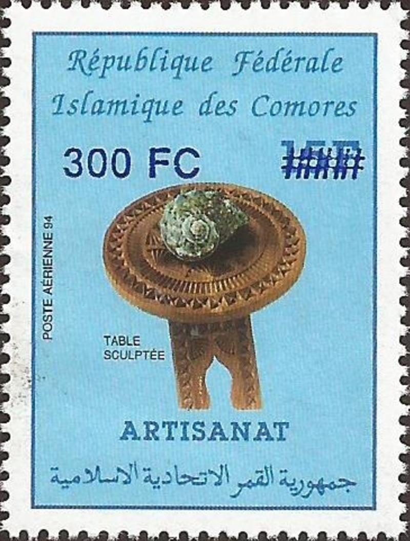 Timbre Comores 2001