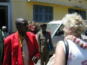 Année 2004-Anjouan visite