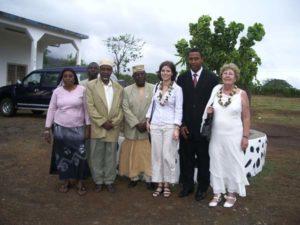 Année 2008-Accueil par maire