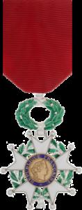 Année 2016-Légion d'honneur chevalier